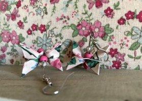 Origami Schmetterling Ohrringe