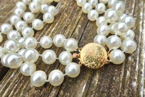 Original 1950's Perlenkette