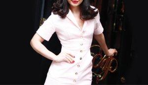 Original Agent Provocateur Uniform Kleid Mantel rosé rosa M/L 40