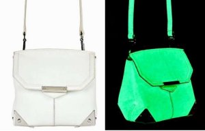 Original Alexander Wang Glow-in-the-Dark Marion mit Rhodium