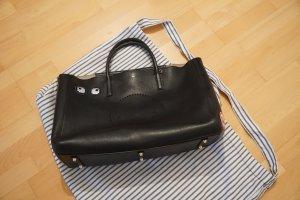 Anya hindmarch Shopper black leather