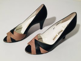 Bally Escarpins classiques  noir-marron clair cuir
