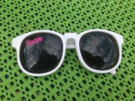 Original Barbie Brille Sonnenbrille Schriftzug Pink Brille weiß schwarzes Glas