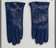 Barneys Originals Leather Gloves multicolored leather