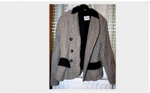 Original Betty Barclay Karierter Blazer M/L