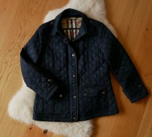 Original Burberry Brit Steppjacke Dunkelblau Gr.L 40 fast schwarz Jacke Damen blau