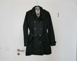 Original Burberry Brit Trenchcoat Gr.40/42 L/XL schwarz Mantel