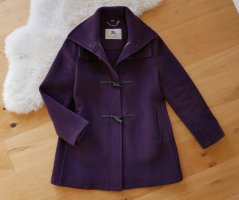 Burberry Duffel Coat blackberry-red-brown violet wool