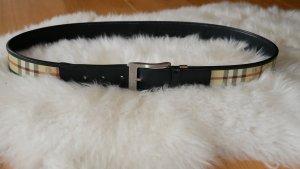 Burberry Cintura fianchi nero-crema Pelle