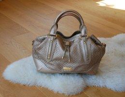 Original Burberry Handtasche Shopper Tasche rosegold rosé gold Luxus Leder Schultertasche