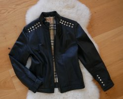 Burberry Leather Jacket black
