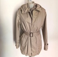 Original Burberry London Mantel Trenchcoat Jacke Parka Gr S beige