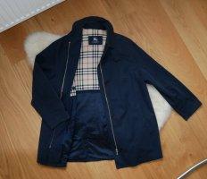 Burberry Between-Seasons Jacket dark blue cotton