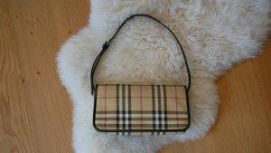 Original Burberry Pochette Schultertasche Handtasche klein Clutch Messenger Check