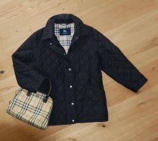 Burberry Quilted Jacket black-cream