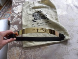 Burberry Waist Belt black-gold-colored leather