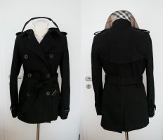 Burberry Trench Coat black cotton