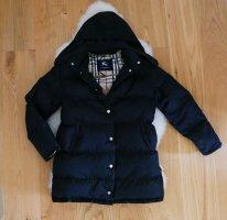 Original Burberry Wintermantel Winterjacke Gr.42/XL schwarz Mantel Jacke Wunderschöne, luxuriöse und warm gefütterte Winterjacke