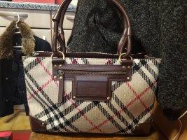 Original Burberry Wolle Damentasche