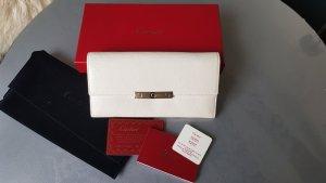 Original Cartier Portemonnaie Geldbörse LOVE weiss mit Zertifikaten Box Staubbeutel
