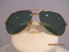Original Cartier Sonnenbrille vergoldet Vintage vendome bicolor