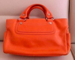 Original Céline Paris Boogie Tasche Handtasche in Orange