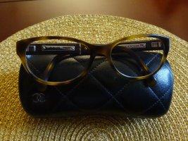 Original CHANEL Damenbrille in braun/bernstein - neuwertig