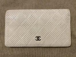 Original Chanel perforierte Portemonnaie Geldtasche WOC