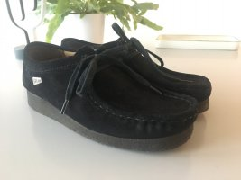 Original Clarks Wallabee - schwarz