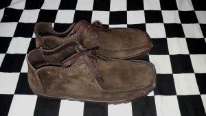 Original Clarks Wildleder Schuhe Gr. 7
