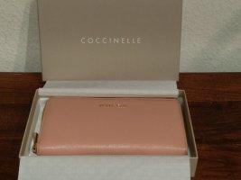 Original Coccinelle Geldbörse in nude - neu in Originalbox