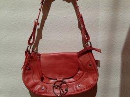Original Coccinelle - Schultertasche in pink-rot - gebraucht, in gutem Zustand