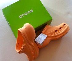 Original Crocs CLASSIC BAE - Size 8 - 38/39 Color Orange NEU OVP