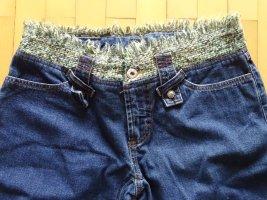 Dolce & Gabbana Jeans met rechte pijpen blauw-donkerblauw Katoen