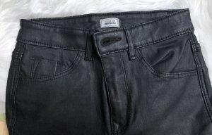 Pimkie Faux Leather Trousers black