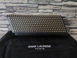 Saint Laurent Clutch black leather