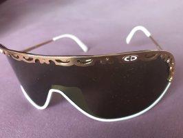 Christian Dior Retro Glasses white-gold-colored