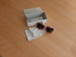 Dior Angular Shaped Sunglasses beige-red