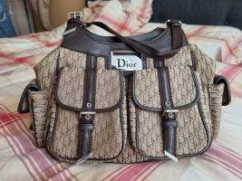 Christian Dior Handtas grijs-bruin