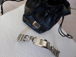 Dolce & Gabanna Orologio con cinturino di metallo argento