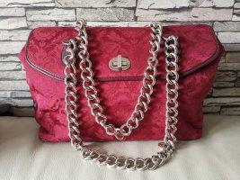 Dolce & Gabbana Handbag neon red silk