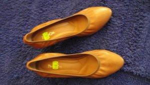 Paco Gil Chaussure Oxford chameau-brun sable cuir