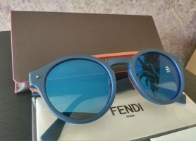 Fendi Panto Glasses dark orange-dark blue