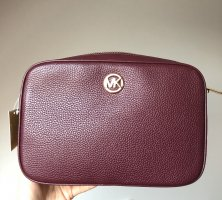 Michael Kors Crossbody bag bordeaux leather