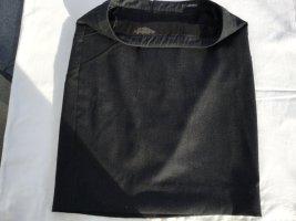 Gianni Versace Falda de lana gris antracita Lana
