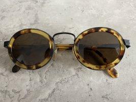 Giorgio  Armani Oval Sunglasses dark brown-brown