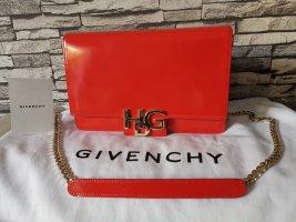 Original Givenchy HDG Handtasche Tasche clutch Lack rot