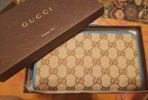 Gucci Portmonetka niebieski neonowy