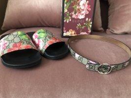 Gucci Cintura vita color oro rosa-argento