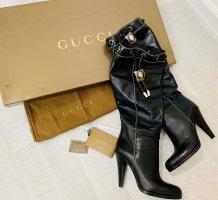 Gucci Stivale con tacco nero Pelle